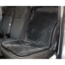 Универсальный защитный авточехол Sheepskin Накидка чехол на сидения автомобиля из Овчины (Эко-шерсть) 1 шт Серый