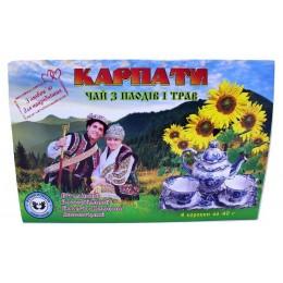 Подарочный набор вкусного Карпатского, витаминного чая из трав Натуральный травяной фиточай