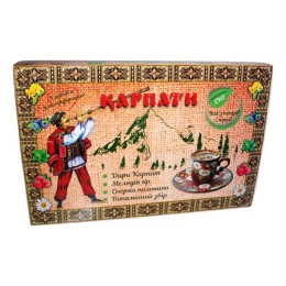 Подарочный набор вкусного чая из трав дары Карпат Натуральный травяной фиточай