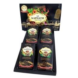 Подарочный набор травяного чая Карпатский сбор Натуральный травяной фиточай