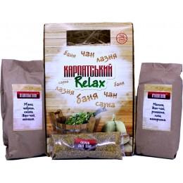 Подарочный набор полезного чая из трав для бани Натуральный травяной фиточай из Карпатских трав и плодов